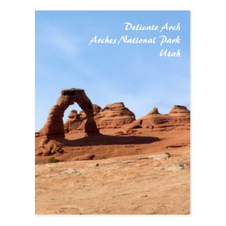 Delicate Arch Post Cards