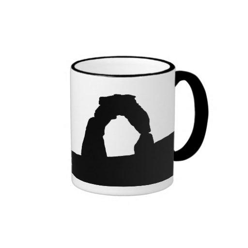 Delicate Arch Silhouette Mug
