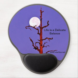 Delicate Balance Mouse Pad Gel Mouse Pads