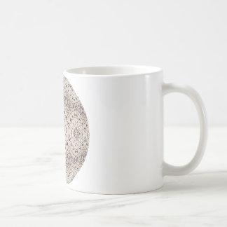 Delicate Beaded Chain Coffee Mugs