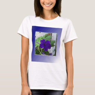 delicate blue petunia T-Shirt