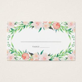 Delicate Bouquet Place Cards