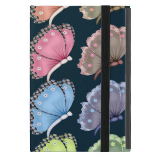 Delicate Butterflies With Floral Accents iPad Mini Cover