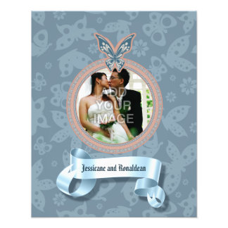 Delicate Butterfly Photo Enlargement Photo Print