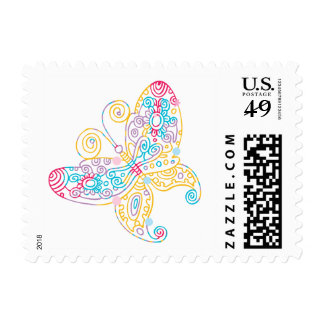Delicate Butterfly Postage