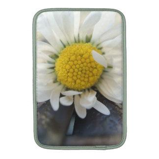Delicate daisy MacBook air sleeve