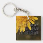 Delicate Dandelion; 2013 Calendar Square Acrylic Keychain