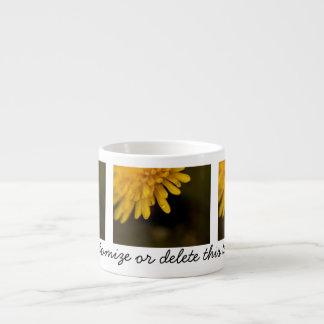 Delicate Dandelion; Customizable Espresso Cup