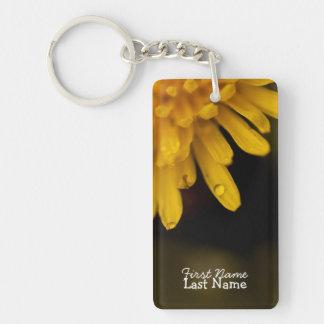 Delicate Dandelion; Customizable Keychain