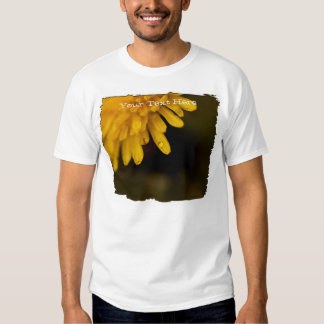 Delicate Dandelion; Customizable T-Shirt
