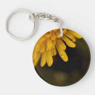 Delicate Dandelion Keychain