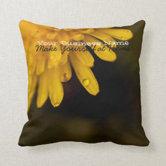Delicate Dandelion; Promotional Throw Pillow