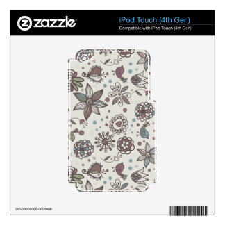 Delicate drawings decal for iPod touch 4G