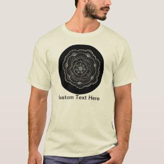 Delicate Floral Doilie Doodle T-Shirt