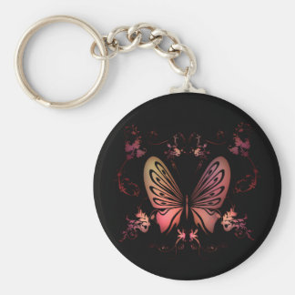 Delicate Floral Keychain