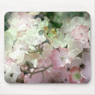 Delicate Floral Mouse Pad