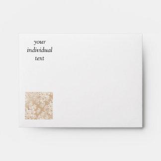 delicate floral pattern,softly (I) Envelopes