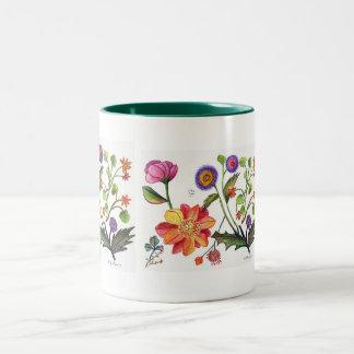 Delicate Flower Mug
