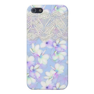 Delicate Flowery and Lace iPhone SE/5/5s Cover