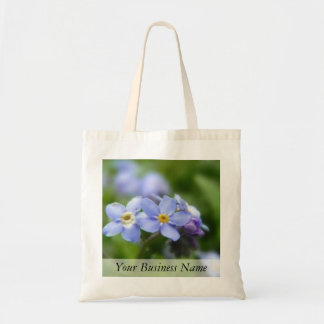Delicate Forget Me Not Flowers Tote Bag