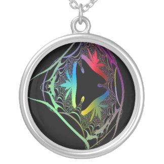 Delicate Fractal Designed Necklace
