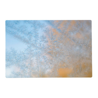 Delicate frost pattern, Wisconsin Placemat