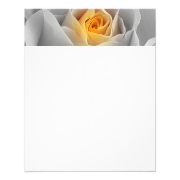 Professional Business Delicate Gray Rose Flyer