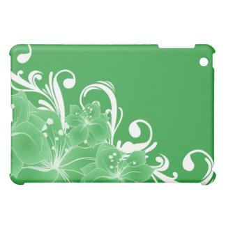 Delicate Green Floral  iPad Mini Case