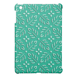 Delicate green leaves japanese pattern cover for the iPad mini