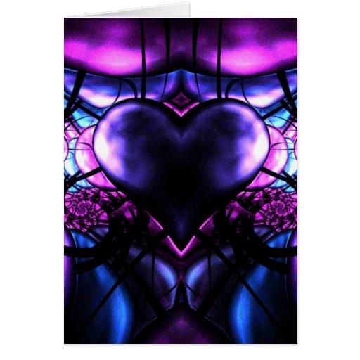 Delicate Heart of Scorpio Greeting Card
