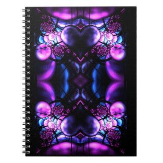 Delicate Heart of Scorpio Spiral Notebook