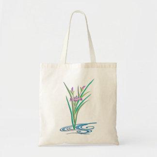 Delicate Iris Tote Bags