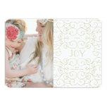 Delicate Joy | Holiday Photo Card