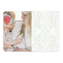 Delicate Joy | Holiday Photo Card Invitations