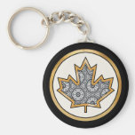 Delicate Lace Fabric Pattern Collection Lace - 08 Keychain