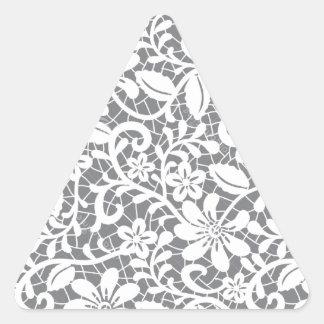Delicate Lace Triangle Sticker