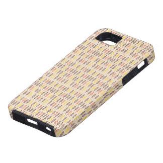 Delicate leaf pattern beige iPad case