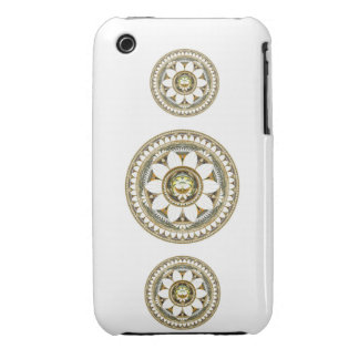 Delicate Lily Flowers iPhone 3 Case