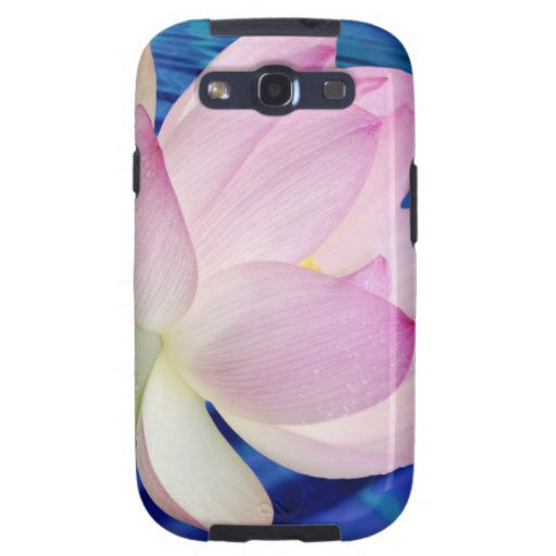Delicate Lotus flower and meaning Samsung Galaxy SIII Covers