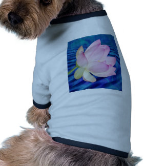 Delicate Lotus flower and meaning Dog Tee Shirt