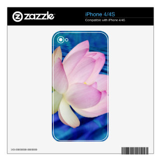 Delicate Lotus flower and meaning iPhone 4 Skins