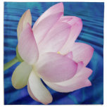 Delicate Lotus flower and meaning Printed Napkins