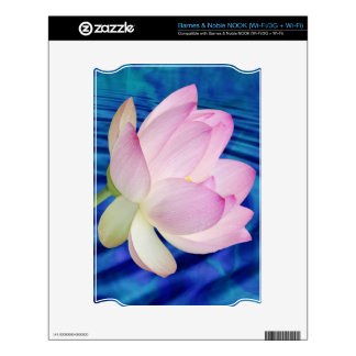 Delicate Lotus flower and meaning Decals For NOOK