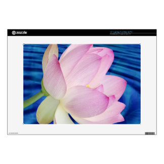 """Delicate Lotus flower and meaning 15"""" Laptop Decals"""