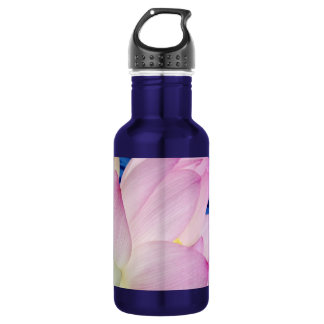 Delicate Lotus flower and meaning Water Bottle