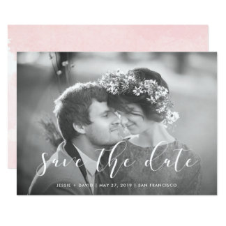 Delicate Love | Photo Save the Date Card