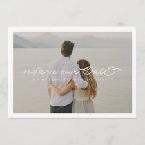 Delicate Love Save the Date Wedding Overlay