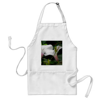 Delicate Morning Glories Adult Apron