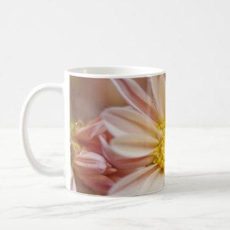 Delicate Peach and Yellow Flower Coffee Mug