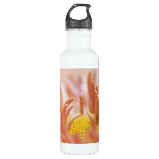 Delicate Peach Flower Stainless Steel Water Bottle